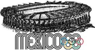 Juegos Olimpicos De Mexico 1968 Esmeraldadelarosanolasco3af