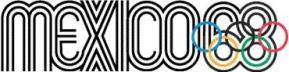 Logotipo de los Juegos Olímpicos de 1968, (C), 1968