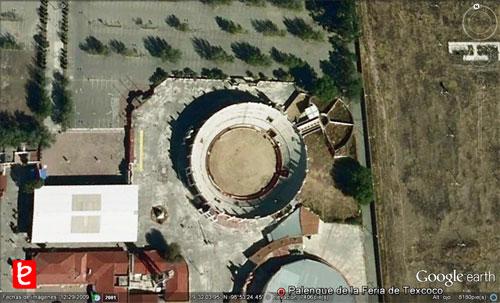 Plaza de Toros Silverio Pérez, ID1523, Google Earth©, 2012