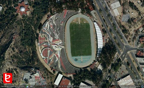 Estadio Universitario, ID1031, Google Earth©, 2012