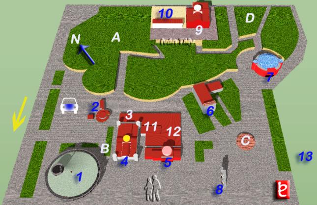 Mapa del Atrio de America. ID618, Ivan TMy, 2009