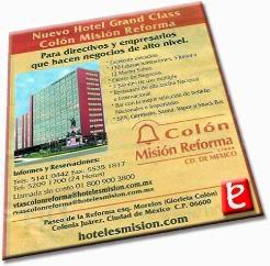 Anuncio Hotel Colon. ID803, Hoteles Mision, 2007